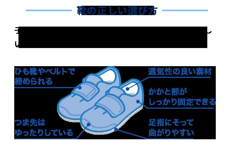 靴の正しい選び方